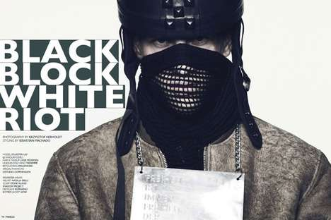 black block white riot