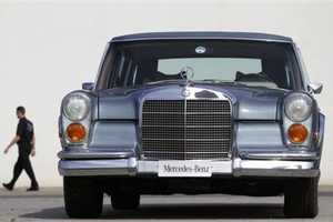 Elvis Presley's Mercedes Benz 600 is Now Up for Grabs