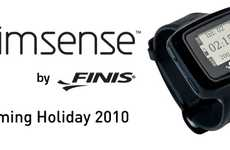 The Swimsense Watch Monitors Your Aquatic Workout