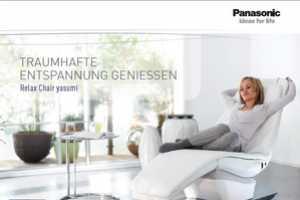The Panasonic Relax Chair Yasumi Will Make You Sleep like a Baby