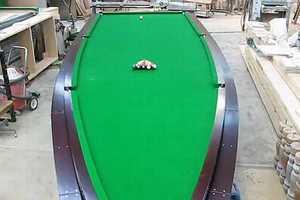 Peter McKee Creates an Incredible Speedboat Billiards Table