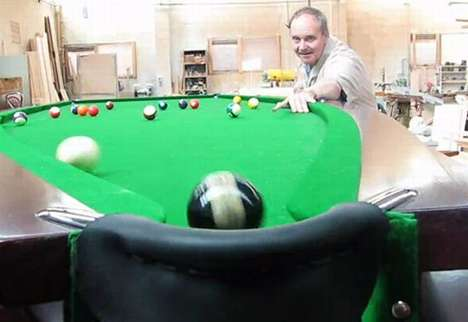 speedboat billiards table