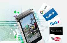 Super Social Media Phones - Sony Bloggie Touch is Perfect for Recording Videos & Tagging Photos