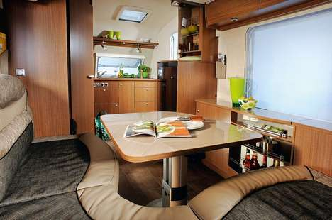Averso plus luxury caravan