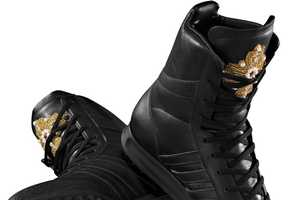 These Above-The-Ankle Hi-Tops For Adidas by Jeremy Scott are Way Hot