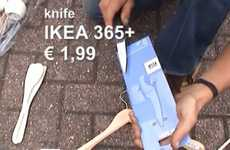 Superstore Survival Kits - The 'FLAMMA' Fire Starting System Enables You to Live in Ikea