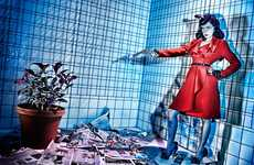 Pop-Art Fashion Editorials