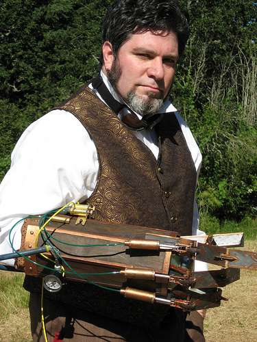 DIY Mechanical Arms - The Philip Valdez Steampunk Arm is an Amazing Creation