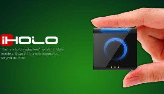 Mini Holographic Phones