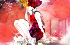 Winsome Watercolor Couture