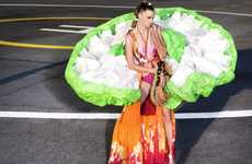 Billowing Parachute Fashion
