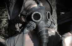 Elephantine Gas Masks - The 'Olifant' by Tom Banwell May Be a Sneak Peek of Future Fashion