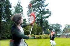 Bow and Arrow Ball Games
