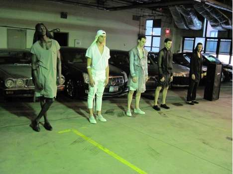 Double-Parked Designer Shows - A Chelsea Parking Garage Was Siki Im's Choice Runway