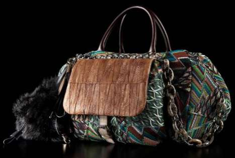 Patterned Poultry Purses - The Missoni Chicken Foot Bag is an Acquired Taste in Fashion