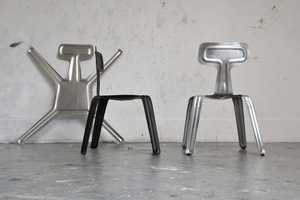 The Harry Thaler Pressed Chair is Super Flexible