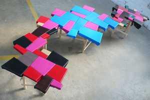 Peter Marigold creates his QOW table Using Castoff Materials