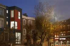 Skinny Living Spaces - Newington Green Road Infill Project Uses Sustainable Practices