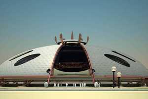 Concept Hockey Stadium in Ekaterinburg by Karina Garipowa