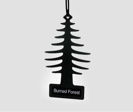 Burned Forest Air Freshener