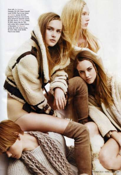 marie claire us october 2010