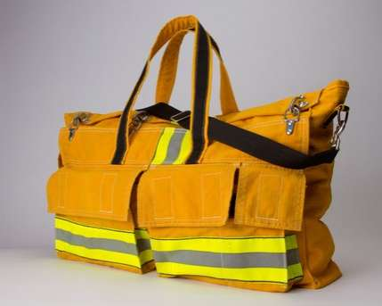 This Cleverscene Valor Tote Bag Keeps a Fireman on Your Arm