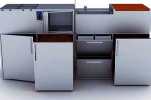 The Kit-Cub Kitchen is Conveniently Fitted to Your Home