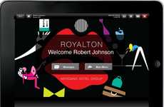 Free Travel Tablets - The In-Room iPads at the Royalton Hotel Make Overnight Stays Easy