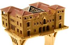Intricate Architectural Accessories - Philippe Tournaire Releases Famous Structure Jewelry