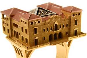 Philippe Tournaire Releases Famous Structure Jewelry