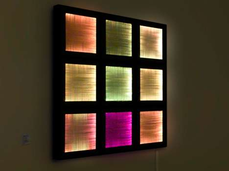 Social Media Tapestries - 'The 50 Different Minds' Fiber Optic Canvas is Twitter-Ready