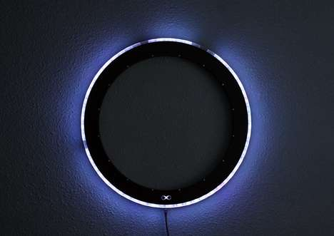 Equinox LED clock