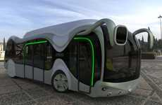 Buggish Buses - The Credo E-Bone Bus Aims to Deliver Green Transportation
