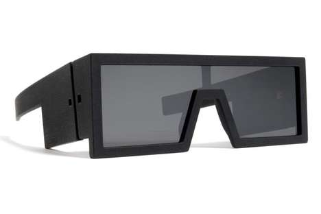 Fahionable 3D Sunglasses - A Rad Hourani & MYKITA Collaboration