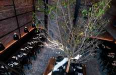 Tree-Table Restaurants - The Tartinery Nolita French Bistro is Like an Indoor Courtyard Cafe