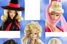 TV Icon Dolls - The Classic TV Barbies are a Blast from the Past
