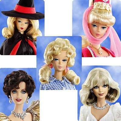 Classic TV Barbies