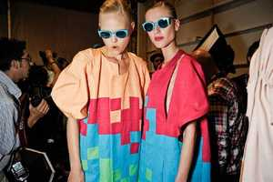 The Multicolored Outfits at the Alexandre Herchcovitch SS11 Show are Hot