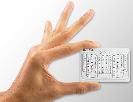 Mini Bluetooth Handheld Keyboard