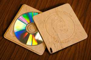 The Cedar CD Case by Alaric King is Way Better Than Plastic in Many Ways