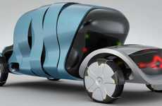 Sun-Powered Concept Cars - The Renault Kidma Transports and Protects