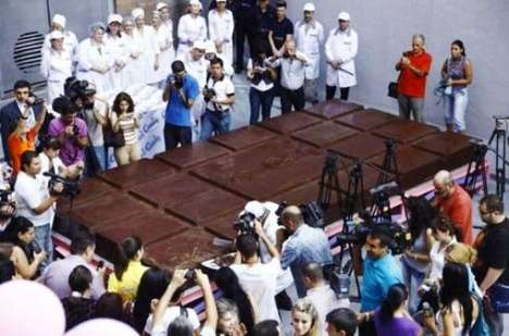 largest chocolate bar