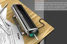 Paper Writing Utensils - The P&P Office Waste Paper Processor Converts Paper into Writing Tools