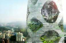 Skyscraper Forests - 'Logistic City' from JDS Architects is a Towering Man-Made Forest