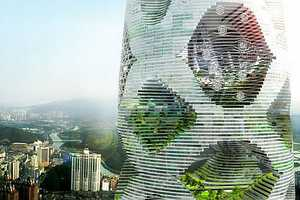 'Logistic City' from JDS Architects is a Towering Man-Made Forest