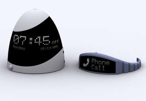Soft Touch Alarm Clock