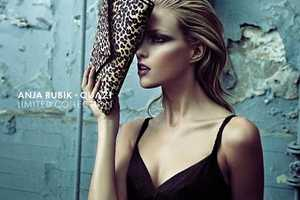 The Anja Rubik Quazi Shoot Dabbles in Dereliction