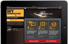 Interactive Television Applications - The 'My Generation' iPad App Listens to Your TV
