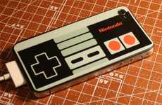 Gamer Phone Decals - The NES Controller iPhone 4 Sticker is a Tribute to Nintendo