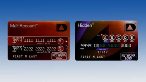 Battery-Powered Credit Cards - Card 2.0 is Electronically Enhanced for Convenience